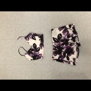 Purple two piece set